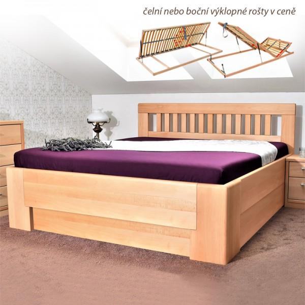 Zvýšená postel SAVANAH 1 VÝKLOP, Kolacia Design