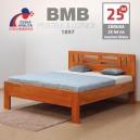 Zvýšená postel ELLA MOON masiv buk, BMB