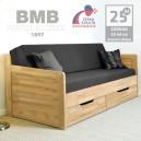 Rozkládací postel MARCY TANDEM KLASIK masiv, BMB