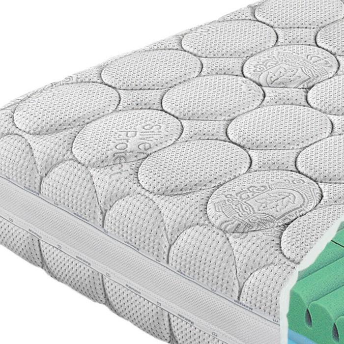 Matrace ALOE DUO - potah Silver protect s 3D ventilační mřížkou, Materasso