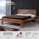 Zvýšená postel GLORIA XL masiv buk, BMB
