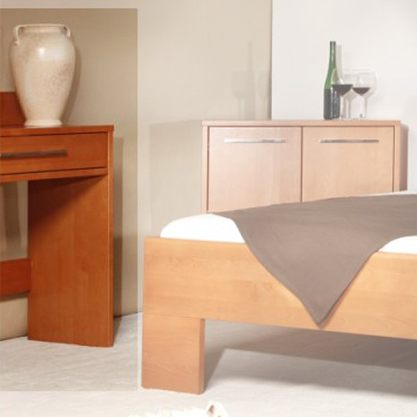 Toaletní stolek masiv buk LAK odstín č.20 třešeň