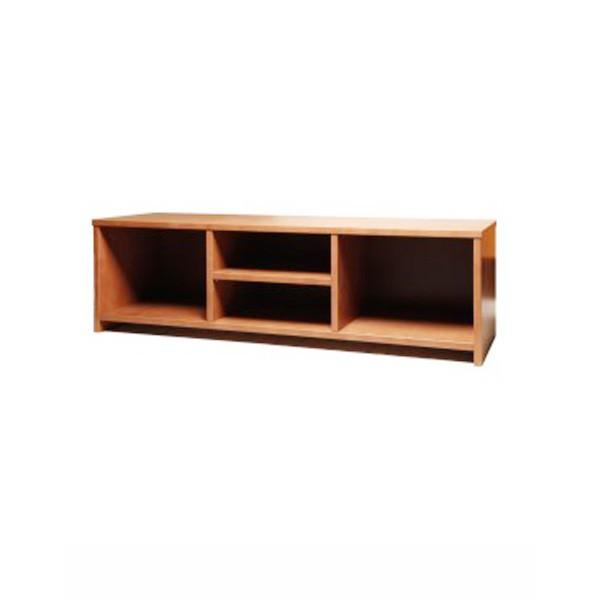 TV stolek volný bez dvířek, masiv buk LAK odstín č.20 třešeň