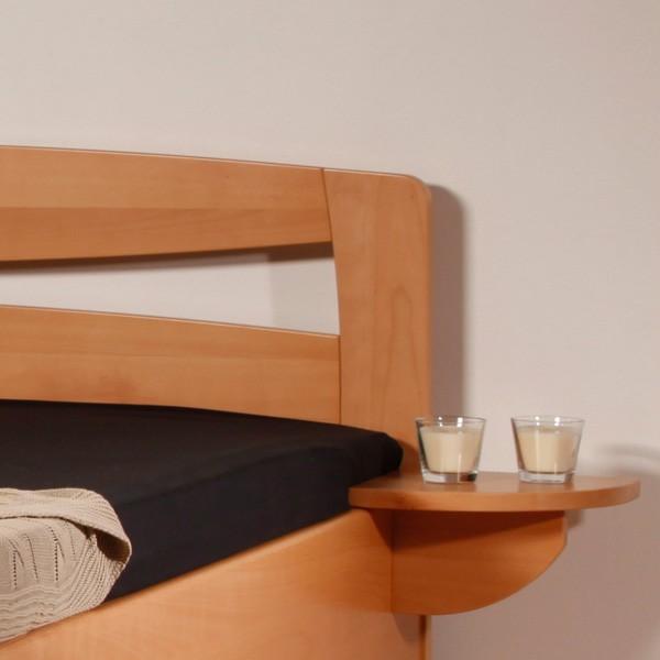 Postel EVITA 2 s úložným prostorem a s rošty, Kolacia (noční stolek není v ceně postele)