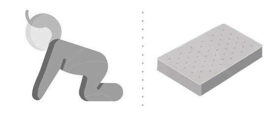 Matrace pro malé děti