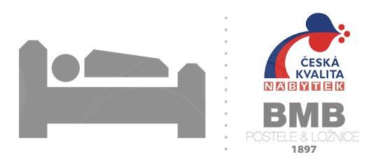 BMB postele a úložné postele