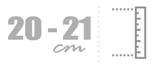 Matrace 20 - 21 cm standard