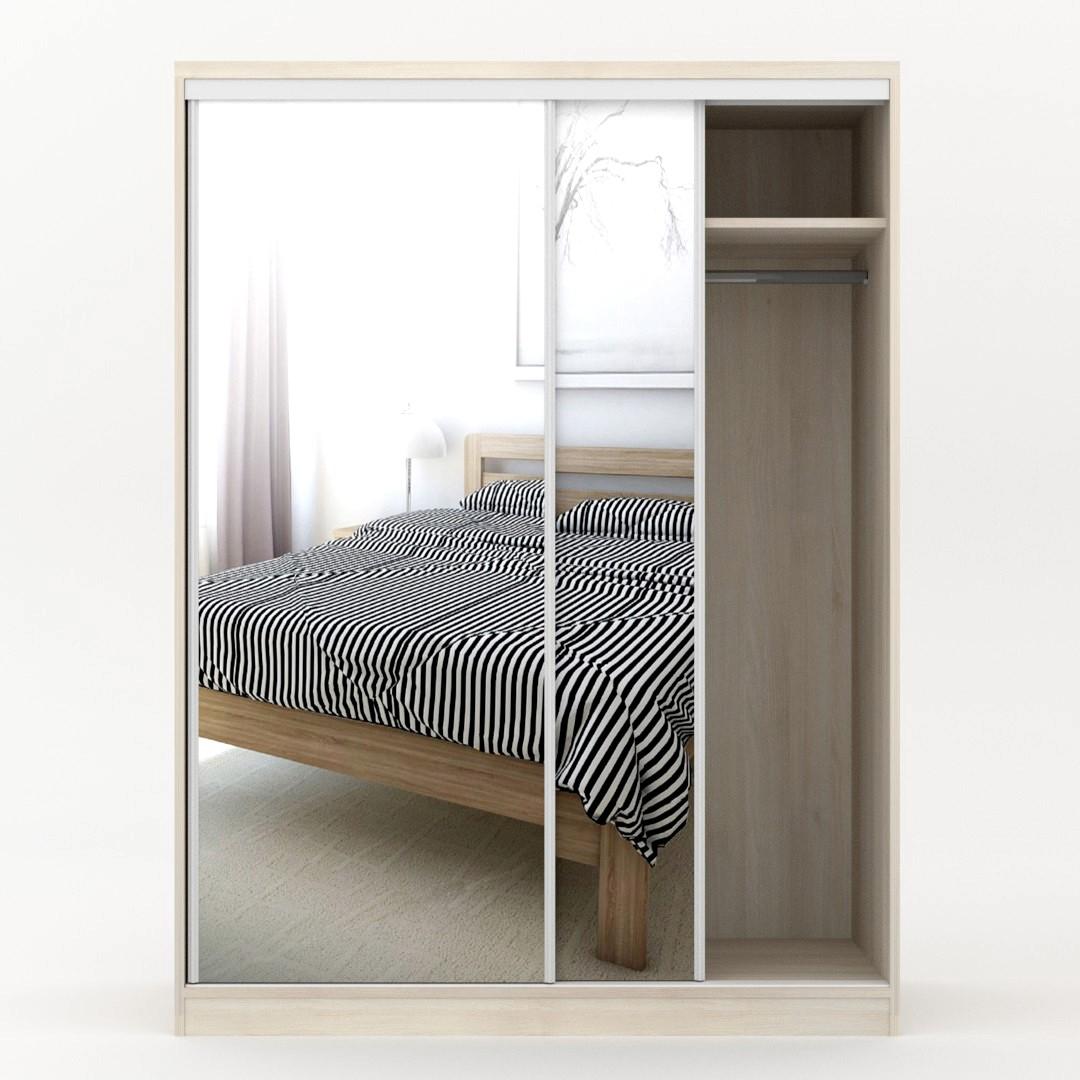dveře se zrcadlem